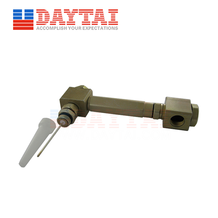 5/8 Female to 5/8 Male Connector 180 Degree With 3'' Extension