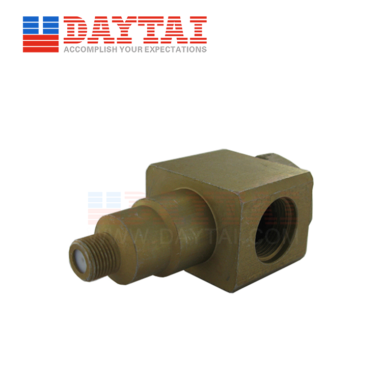 5/8 Female to F Female Connector 90 Degree