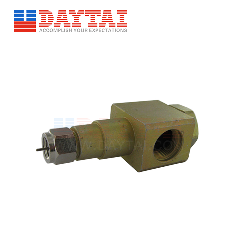 5/8 Female to F Male Connector 90 Degree