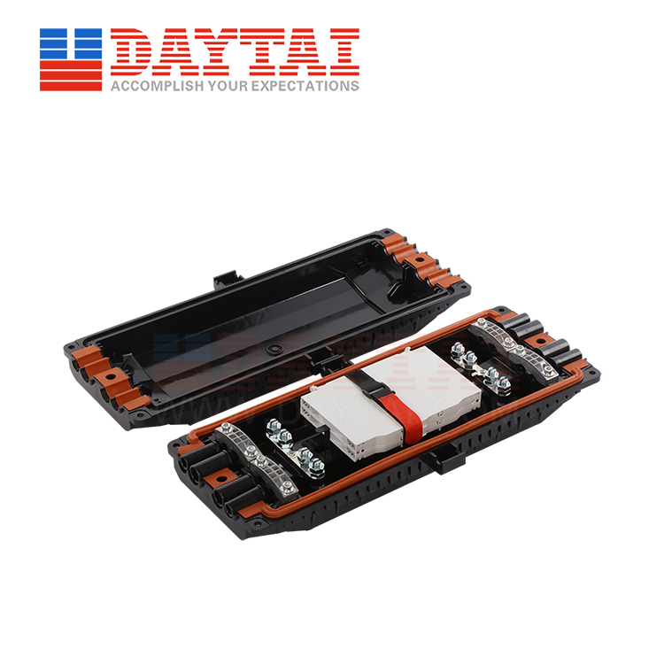 4 inlet+4 Outlet 96 Core Horizontal Closure (DT-FOSC-H8007)