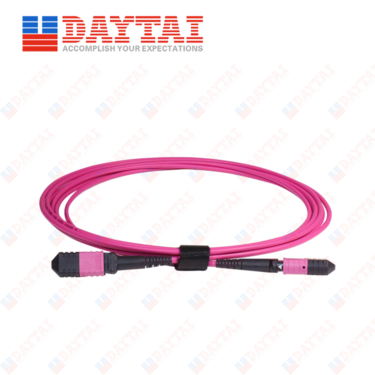 16Core MM OM4 Male to Female MPO Trunk Patch Cord