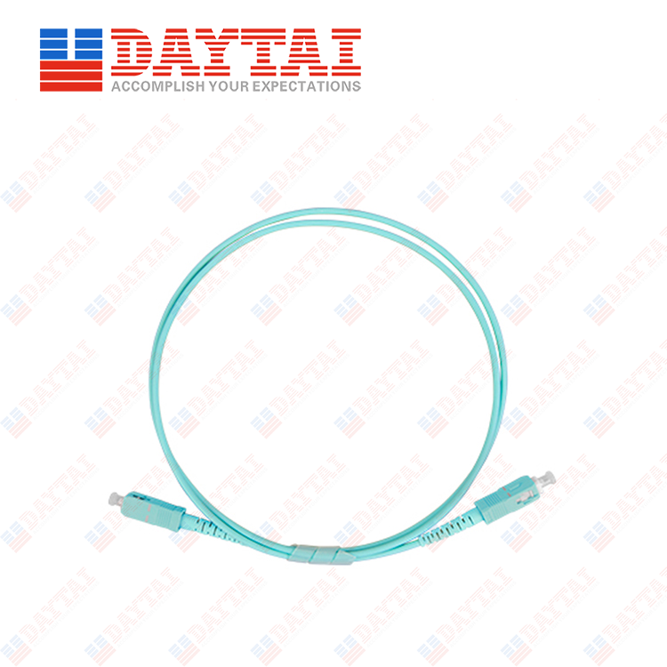 SC MM OM3 Patch Cord