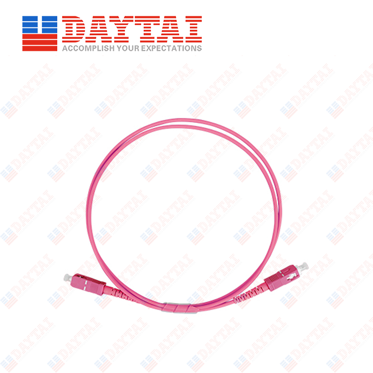 SC MM OM4 Patch Cord