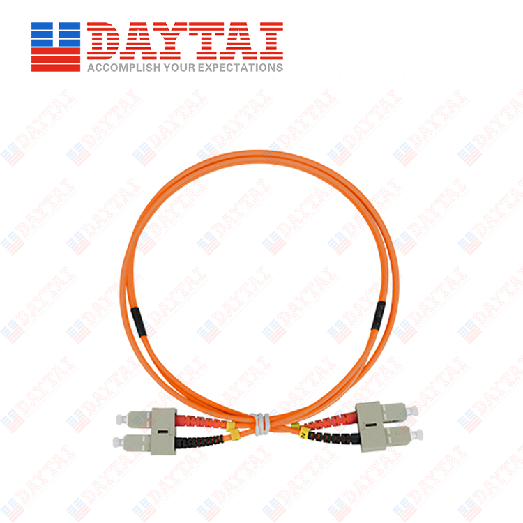 SC MM OM2 DX Patch Cord
