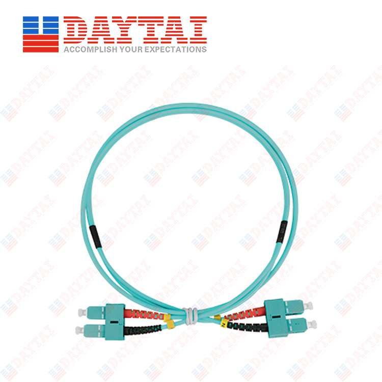 SC MM OM3 DX Patch Cord