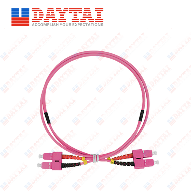 SC MM OM4 DX Patch Cord