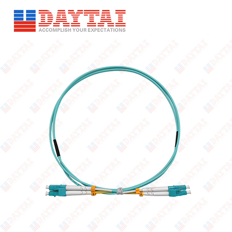 LC MM OM3 DX Patch Cord