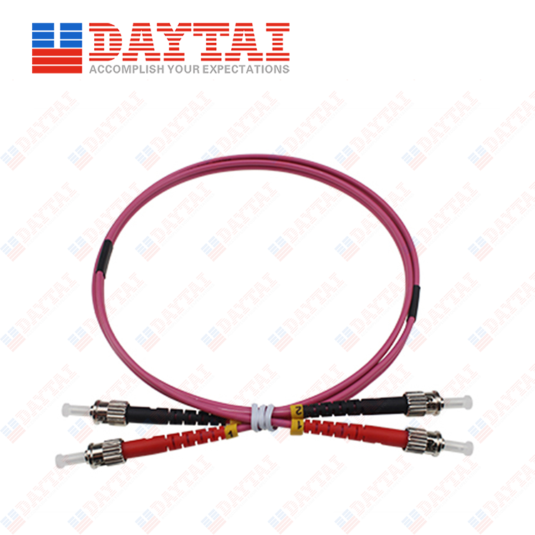 ST MM OM4 DX Patch Cord