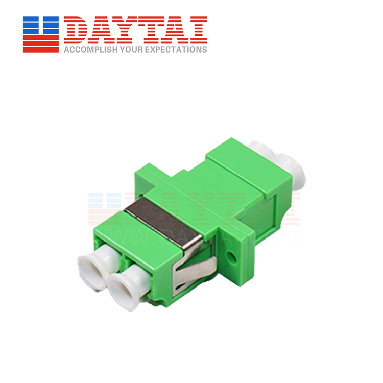 LC/APC-SM-DX-Fiber Optic Adapter- With Flange