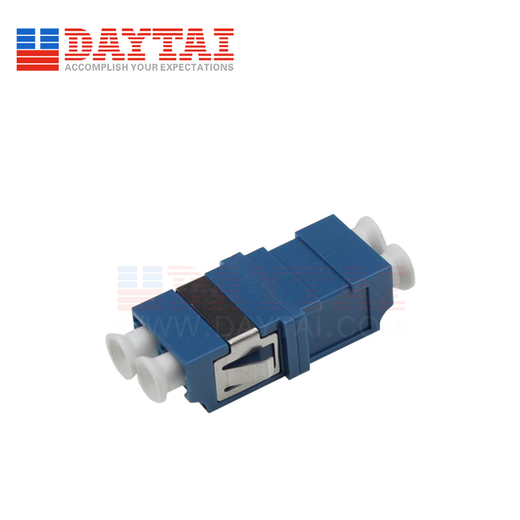 LC/UPC-SM-DX-Fiber Optic Adapter-Without Flange