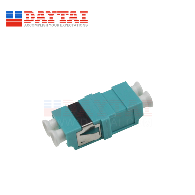 LC-MM-OM3-DX-Fiber Optic Adapter-Without Flange