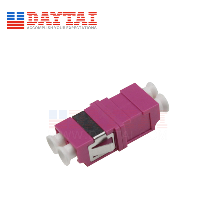 LC-MM-OM4-DX-Fiber Optic Adapter-Without Flange