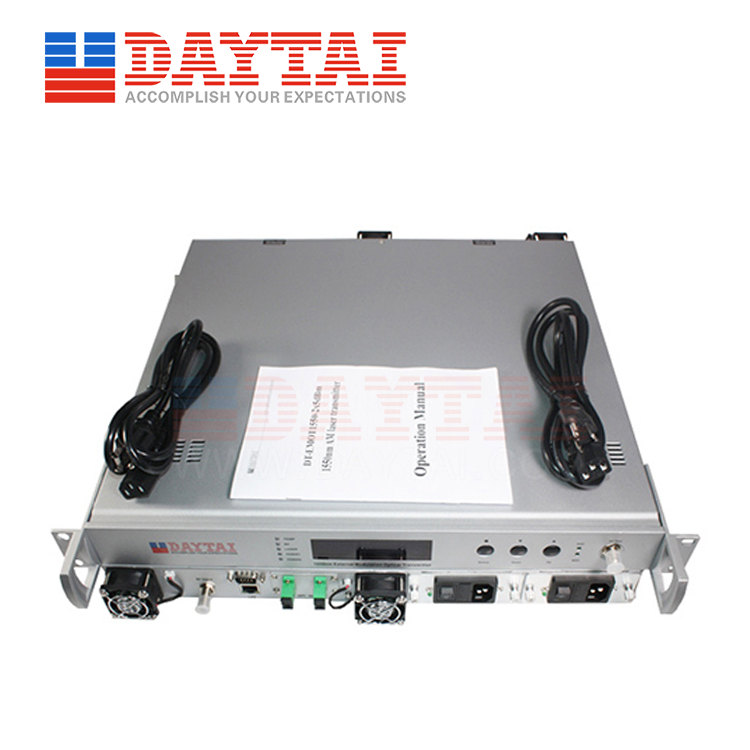 2Way 1550nm External Modulation Optical Transmitter