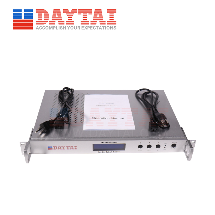 Satellite Optical Receiver (DT-SAT-OR2600L)