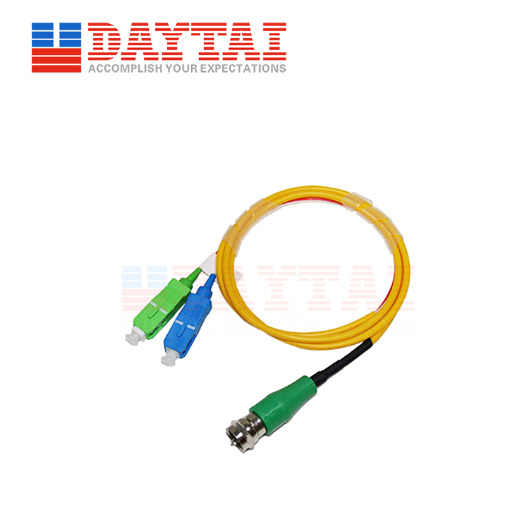 Passive CATV+PON Optical Receiver-F Male-Patch Cord Type (DT-PORW-FM)