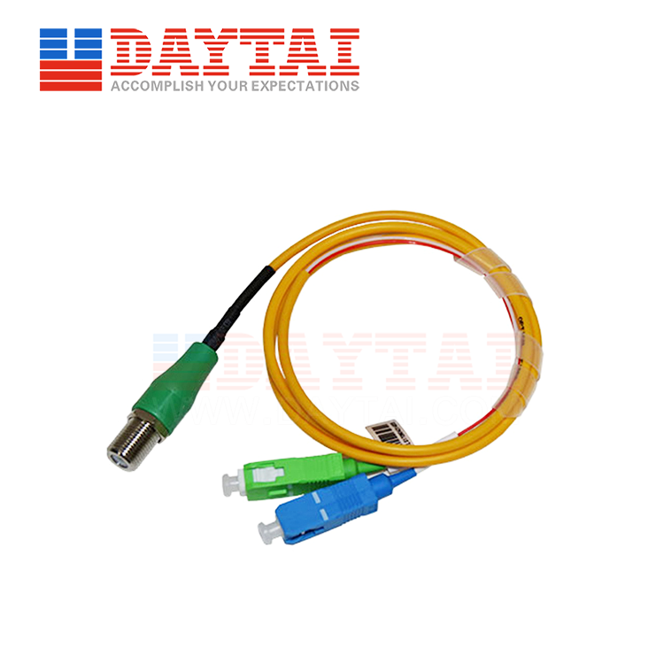 Passive CATV+PON Optical Receiver-F Female-Patch Cord Type (DT-PORW-FF)