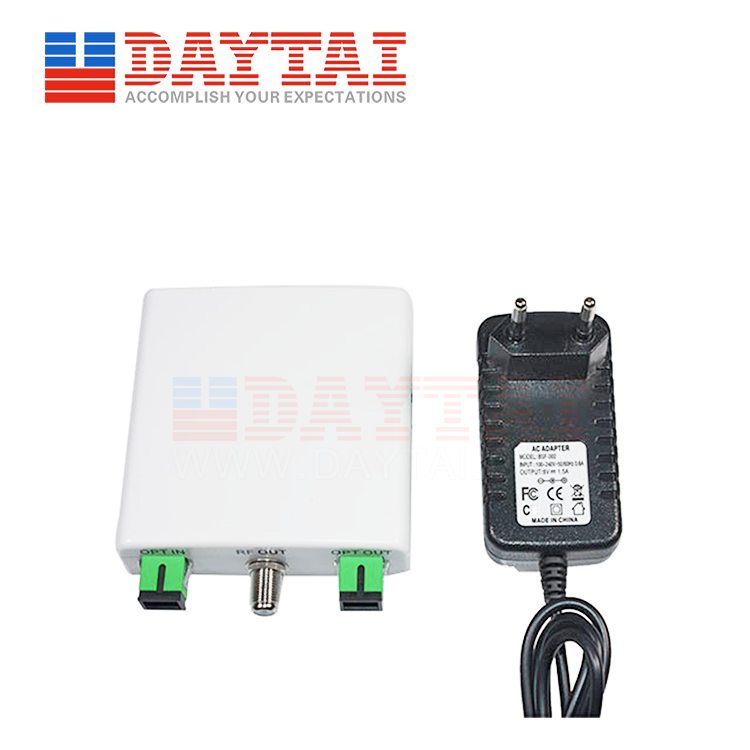 Active CATV+PON Optical Receiver-Socket Type(DT-AORW-ST)